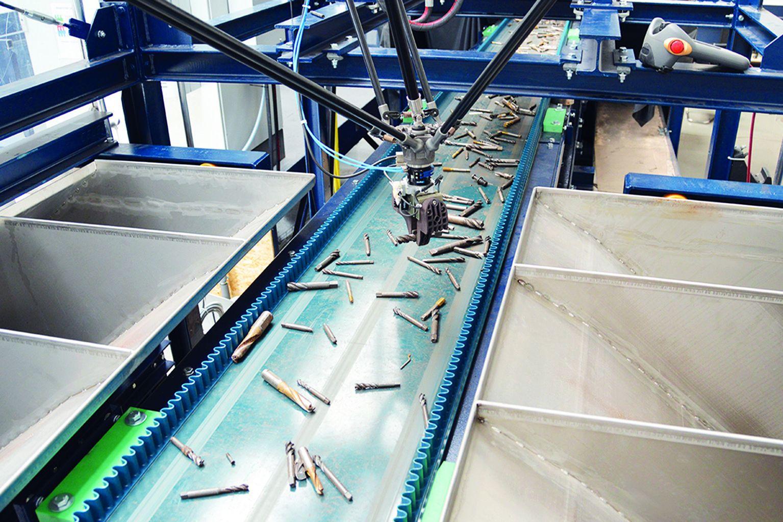 Mit einem laserbasierten Sortierverfahren, entwickelt im BMBF-Projekt PLUS, lassen sich wertvolle Legierungen aus Metallschrott effizient zurückgewinnen