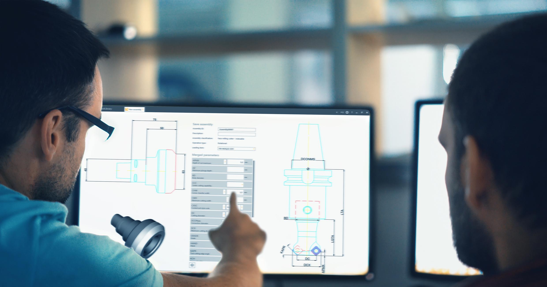 Mit der digitalen Werkzeugdatenbank CoroPlus® Tool Library wird das Durchsuchen von Katalogen oder Websites nach den richtigen Werkzeugdaten überflüssig.