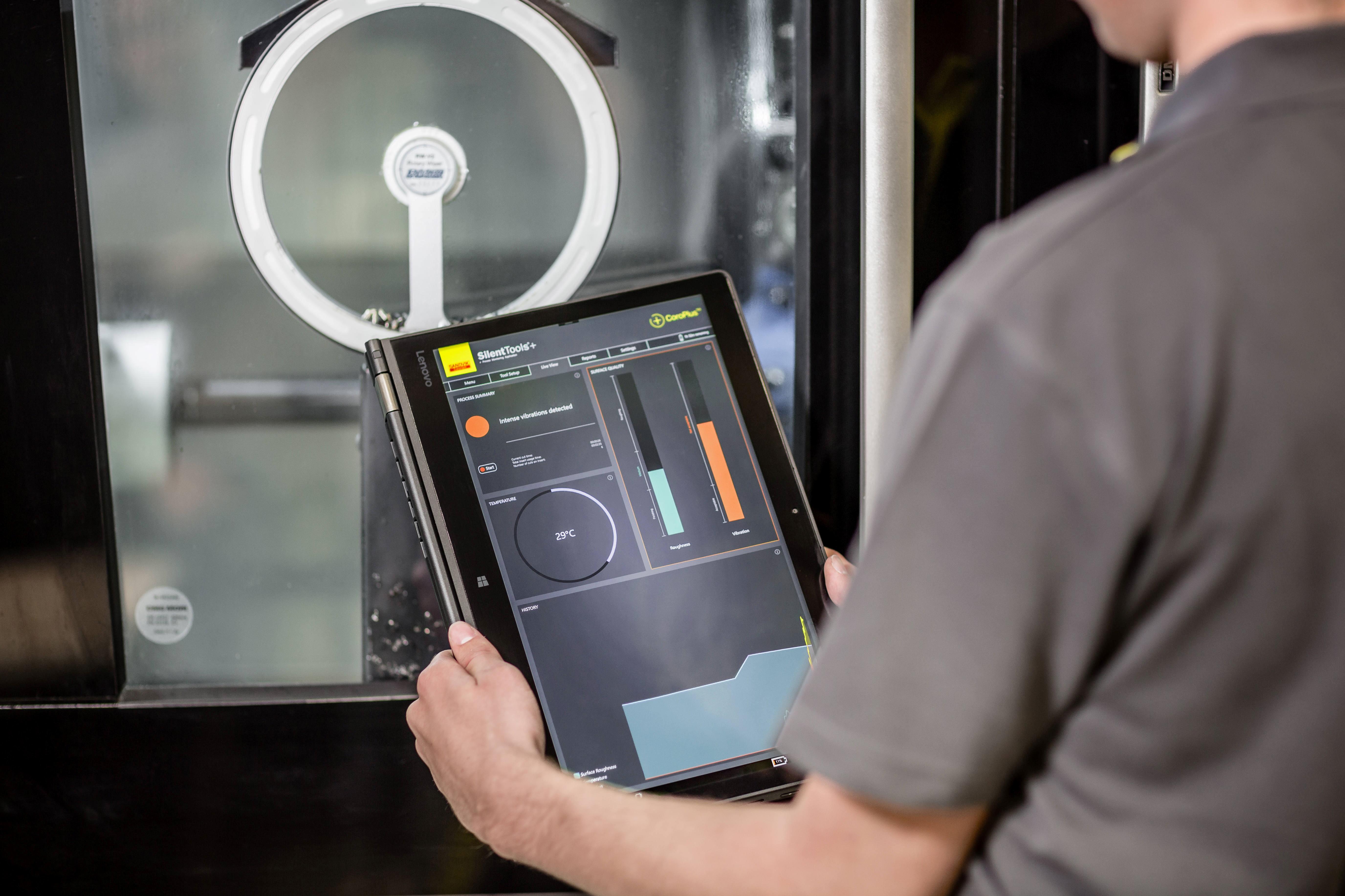 Sandvik Coromants Silent Tools™ Plus Bohrstangen wurden für die Innendrehbearbeitung mit langen Überhängen entwickelt.