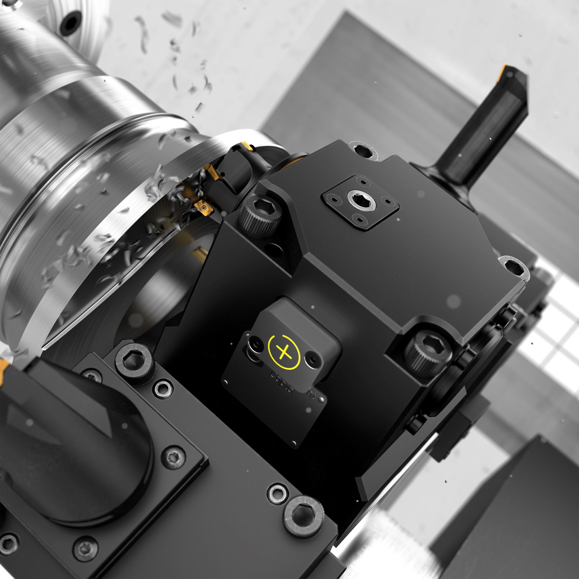 Mit Coromant Capto® Plus bietet Sandvik Coromant eine Lösung zur vorausschauenden Instandhaltung von angetriebenen Coromant Capto® Werkzeughaltern auf Drehmaschinen an.